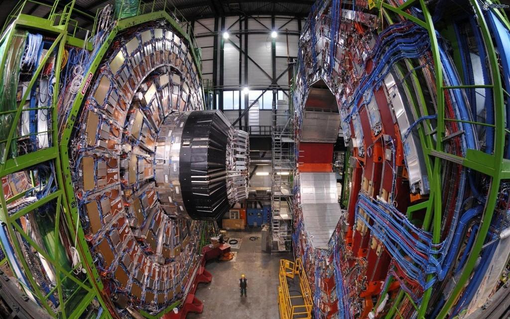 El colisionador de Hadrones.