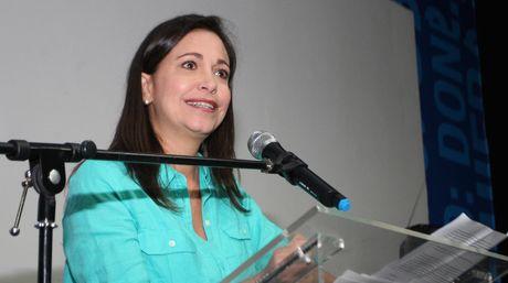La líder de Vente Venezuela, María Corina Machado | Foto archivo