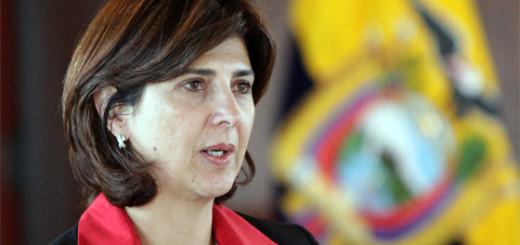 María Ángela Holguín, Ministra de Relaciones Exteriores de Colombia / Foto: Archivo