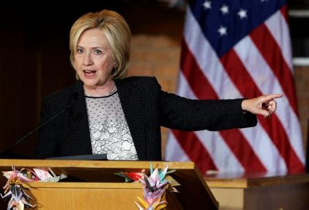 La exsecretaria de Estado y precandidata a las elecciones presidenciales de EEUU en 2016, Hillary Clinton  Foto: Archivo