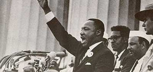 "Martin Luther King durante el discurso ""I have a Dream"", 28 de agosto de 1963"