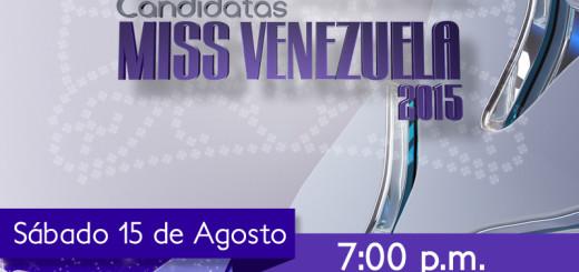 Presentación a la Prensa de las candidatas al Miss Venezuela