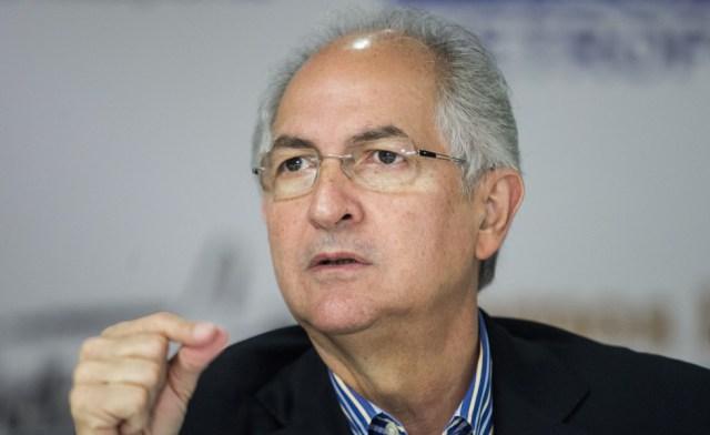 Alcalde Metropolitano, Antonio Ledezma
