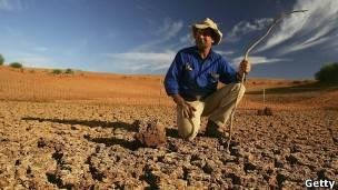 El norte de Australia suele verse afectado por la sequía en los años de El Niño.