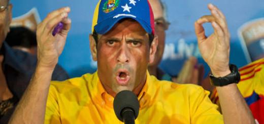 El gobernador de Miranda, Henrique Capriles | Foto: Archivo