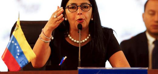 Canciller de la República, Delcy Rodríguez|Foto: archivo