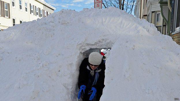 El Niño suele provocar inviernos menos rigurosos en Norteamérica y más fríos en el este de Europa.