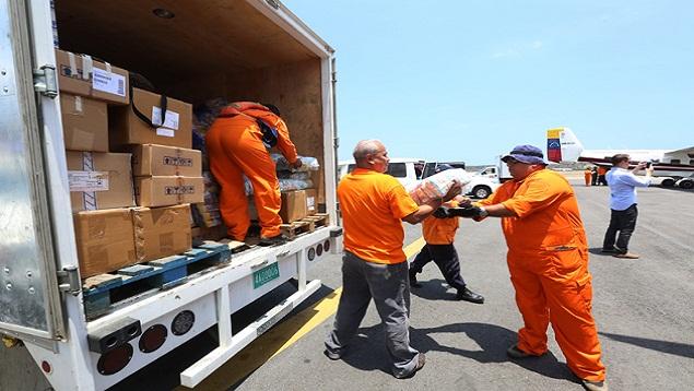 Ayuda humanitaria   Imagen referencial