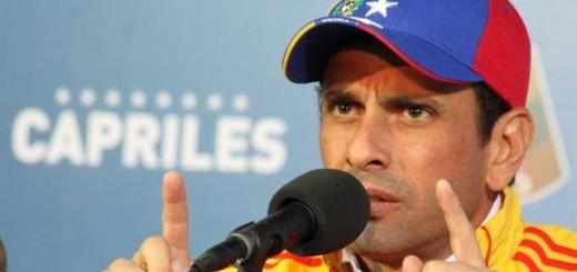 El gobernador del estado Miranda, Henrique Capriles