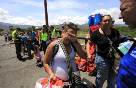 colombianos expulsados
