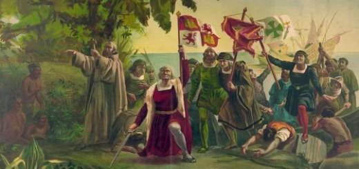 Año 1498. En Venezuela ―en el marco de la conquista de América― Cristóbal Colón entra en el golfo de Paria y es el primer europeo en avistar América del Sur.