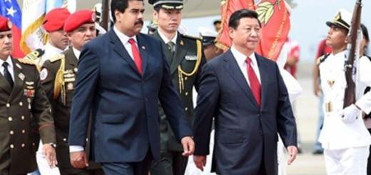 Nicolás Maduro y su homólogo  Xi Jinping |Foto archivo