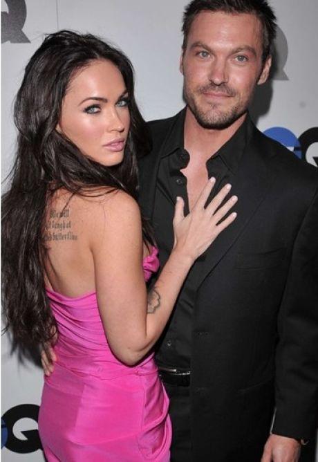 Megan Fox y Brian Austin