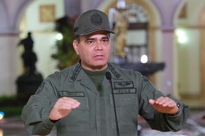 Ministro de Defensa, Vladimir Padrino López