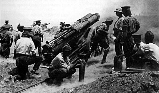 03 de Agosto de 1914. En el ámbito de la Primera Guerra Mundial, Alemania declara la guerra a Francia.