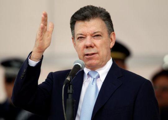 El presidente colombiano Juan Manuel Santos / Foto: Cortesía