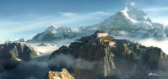03 de Agosto de 1904:. En el Tíbet, una expedición británica alcanza la ciudad de Lhasa, que el Dalái Lama acababa de abandonar.