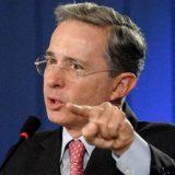 El ex presidente colombiano, Álvaro Uribe   Foto: Archivo