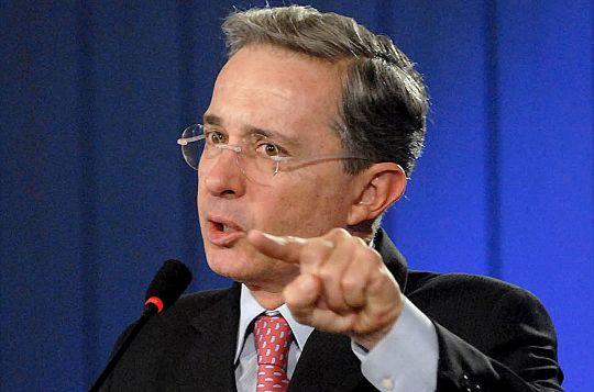 El ex presidente colombiano, Álvaro Uribe | Foto: Archivo