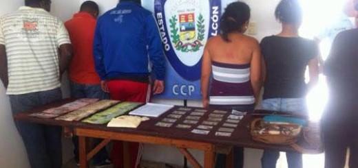 Los detenidos fueron puestos a la orden de la fiscalía 5ta del Ministerio Público. Foto cortesía.