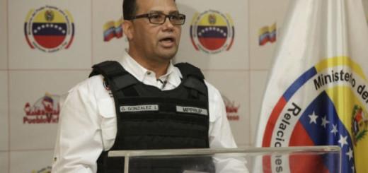 El ministro del Interior de Venezuela, Gustavo González López| Foto: Archivo
