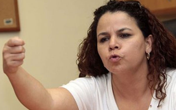 Iris Varela, Ministra de Asuntos Penitenciarios   Foto: Archivo