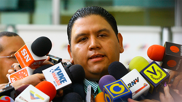 Luis Emilio Rondon, Rector CNE / Imagen referencial