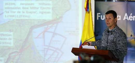 Colombia había denunciado ayer la violación del espacio aéreo por otros dos aviones venezolanos (EFE)