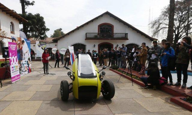Sôki ' el primer auto eléctrico chileno ( fotos)   notitotal