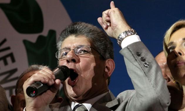 Presidente de la Asamblea Nacional, Henry Ramos Allup  Foto: Archivo
