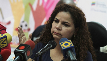 Ministra del Poder Popular para Asuntos Penitenciarios, María Iris Varela   Foto: Archivo