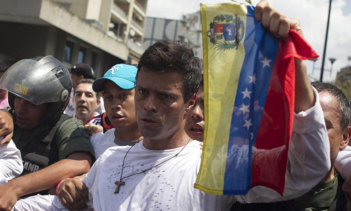 Preso político Leopoldo López|Foto: Archivo