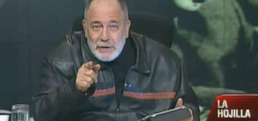 Mario Silva, presentador de La Hojilla