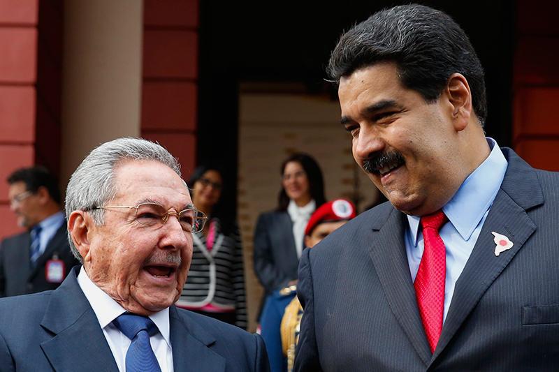 Relación entre Cuba y Venezuela |Foto archivo