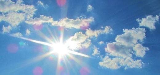 Cielo con poca nubosidad y ausencia de precipitaciones
