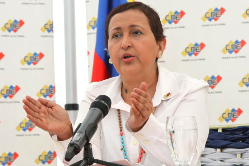Image result for Tibisay Lucena, presidenta del Consejo Nacional Electoral.