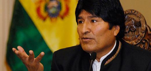 El presidente de Bolivia, Evo Morales |Foto archivo