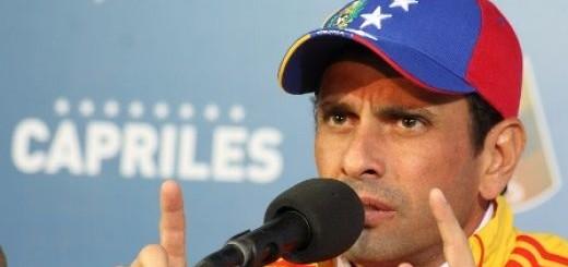 Henrique Capriles Radonski, gobernador del estado Miranda | Foto: Archivo