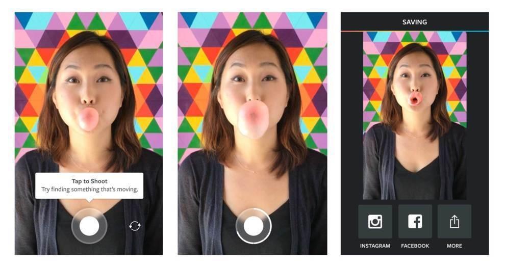 Boomerang es la última en llegar a la familia de aplicaciones creativas de Instagram