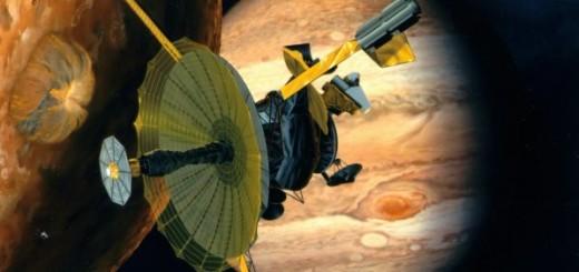 foto| Sonda Galileo llegando a Júpiter