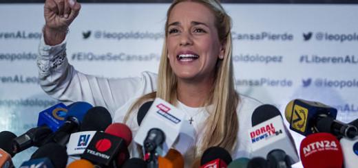Durante la realización de la denuncia, Lilian Tintori estará acompañada del director del Observatorio Venezolano de Prisiones, Humberto Prado.