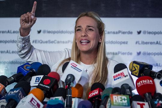 Lilian Tintori invita a los venezolanos a firmar por Voluntad Popular