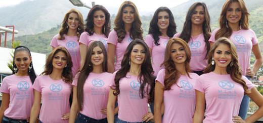 El certamen de belleza será el próximo jueves. 8 de octubre