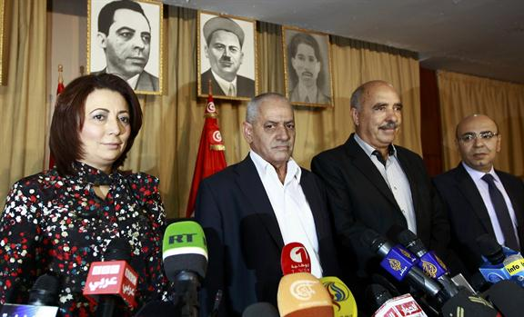 El Cuarteto para el diálogo nacional en Túnez, formado por organizaciones de la sociedad civil, ha ganado el premio Nobel de la Paz 2015 Cortesía