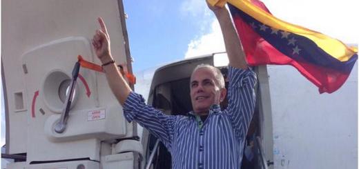 El ex candidato presidencial Manuel Rosales