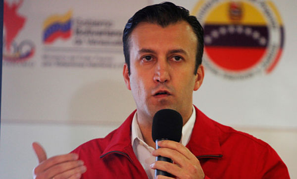 Tareck El Aissami, Gobernador del estado Aragua   Foto: Archivo