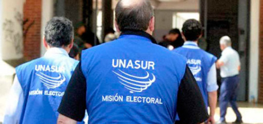 Misión Electoral de la Unasur / Imagen de referencia