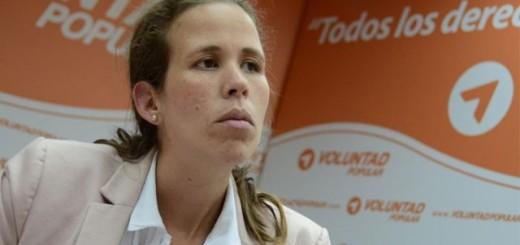 La candidata a la Asamblea Nacional de la Unidad por el estado Miranda, Manuela Bolívar