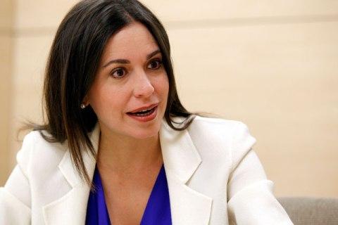Ex Diputada Maria Corina Machado / Imagen de Referencia
