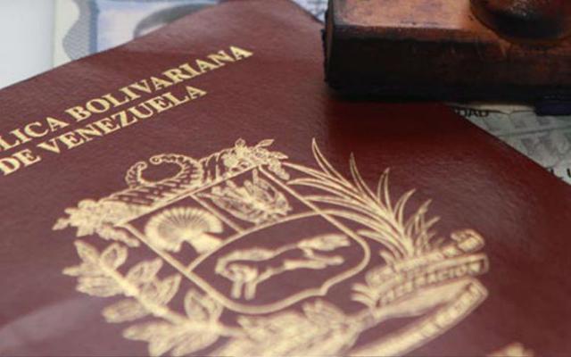 Pasaporte venezolano |Imagen referencial